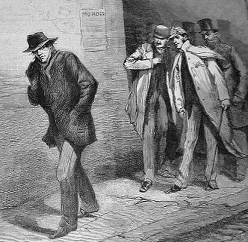 Jack lo Squartatore in una illustrazione vittoriana