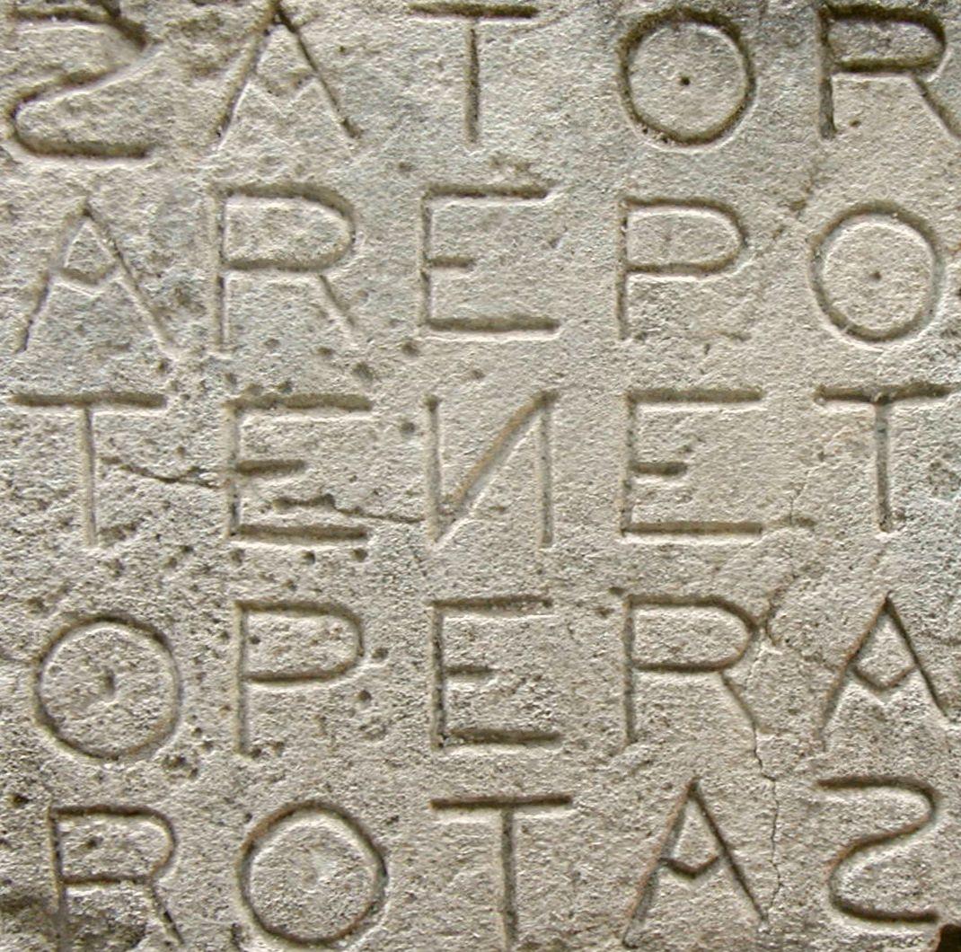 Il Quadrato del Sator: il palindromo più famoso di sempre