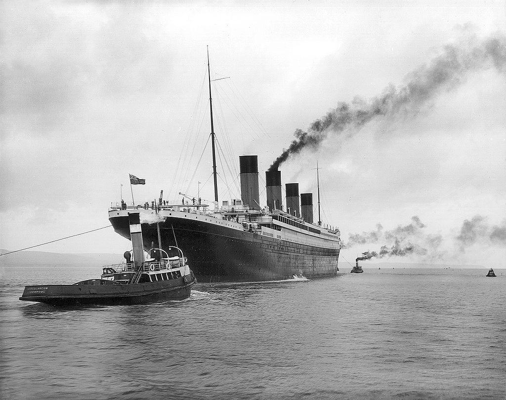 Il Titanic lascia Belfast