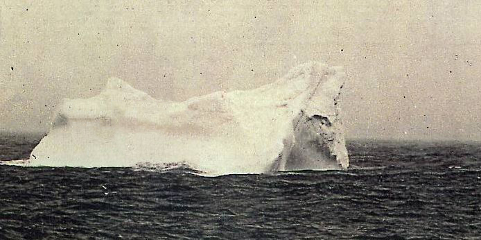 L'iceberg che colpì il Titanic