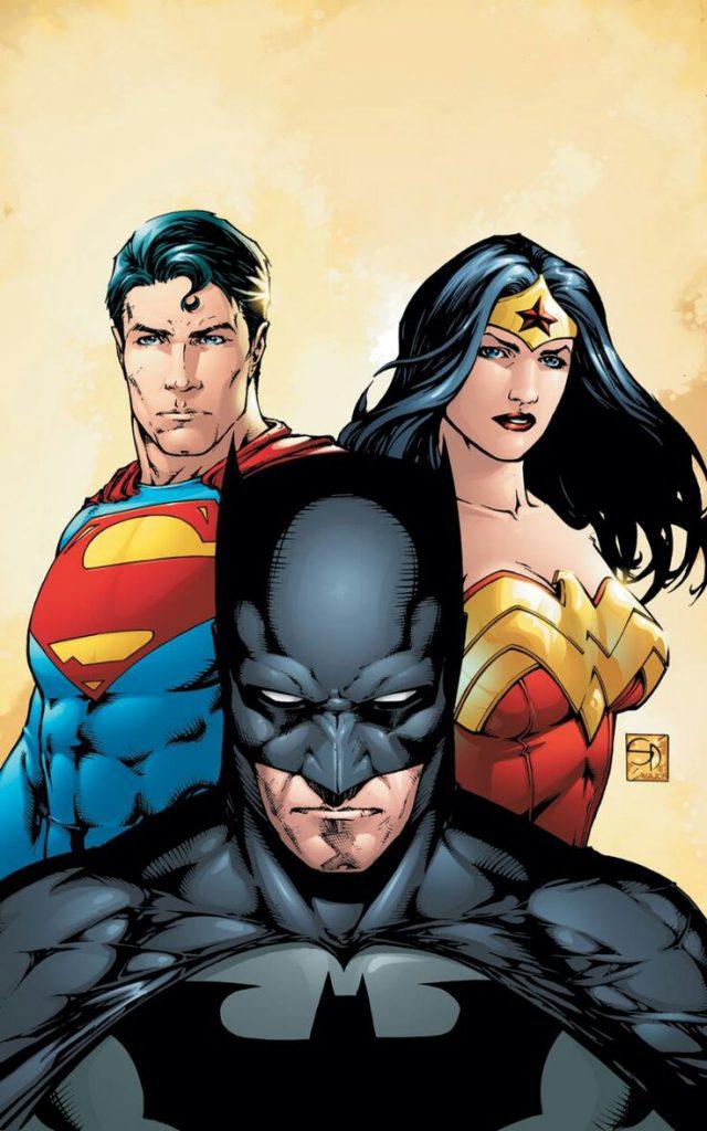 Batman, Superman e Wonder Woman: parte della Justice League!