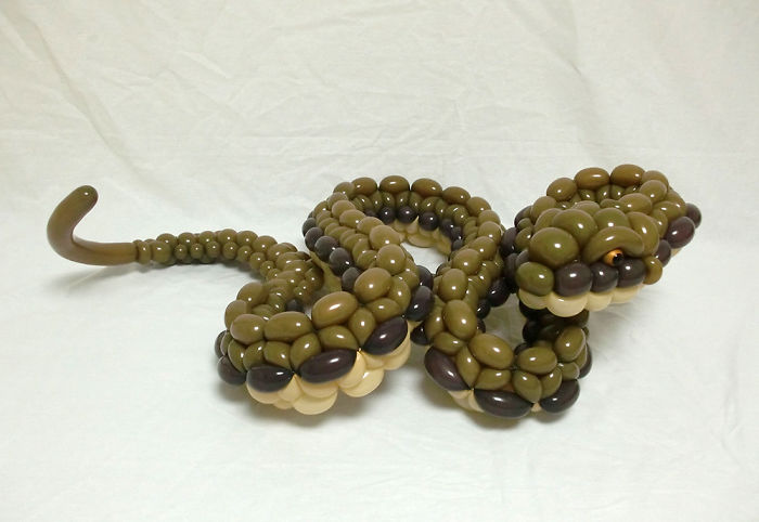 Uno dei serpenti di Masayoshi Matsumoto