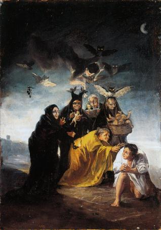 Esorcismo, Francisco Goya