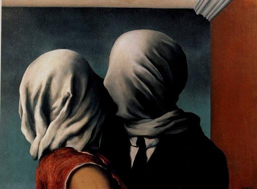 Gli Amanti di Réné Magritte