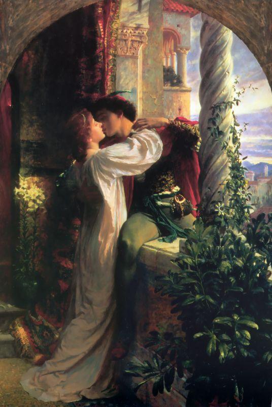 Romeo e Giulietta di Sir Frank Dicksee